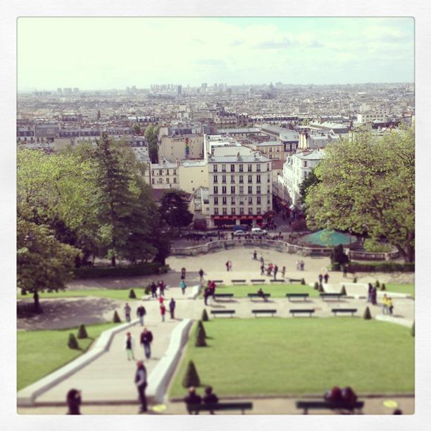 Montmartre View of Paris