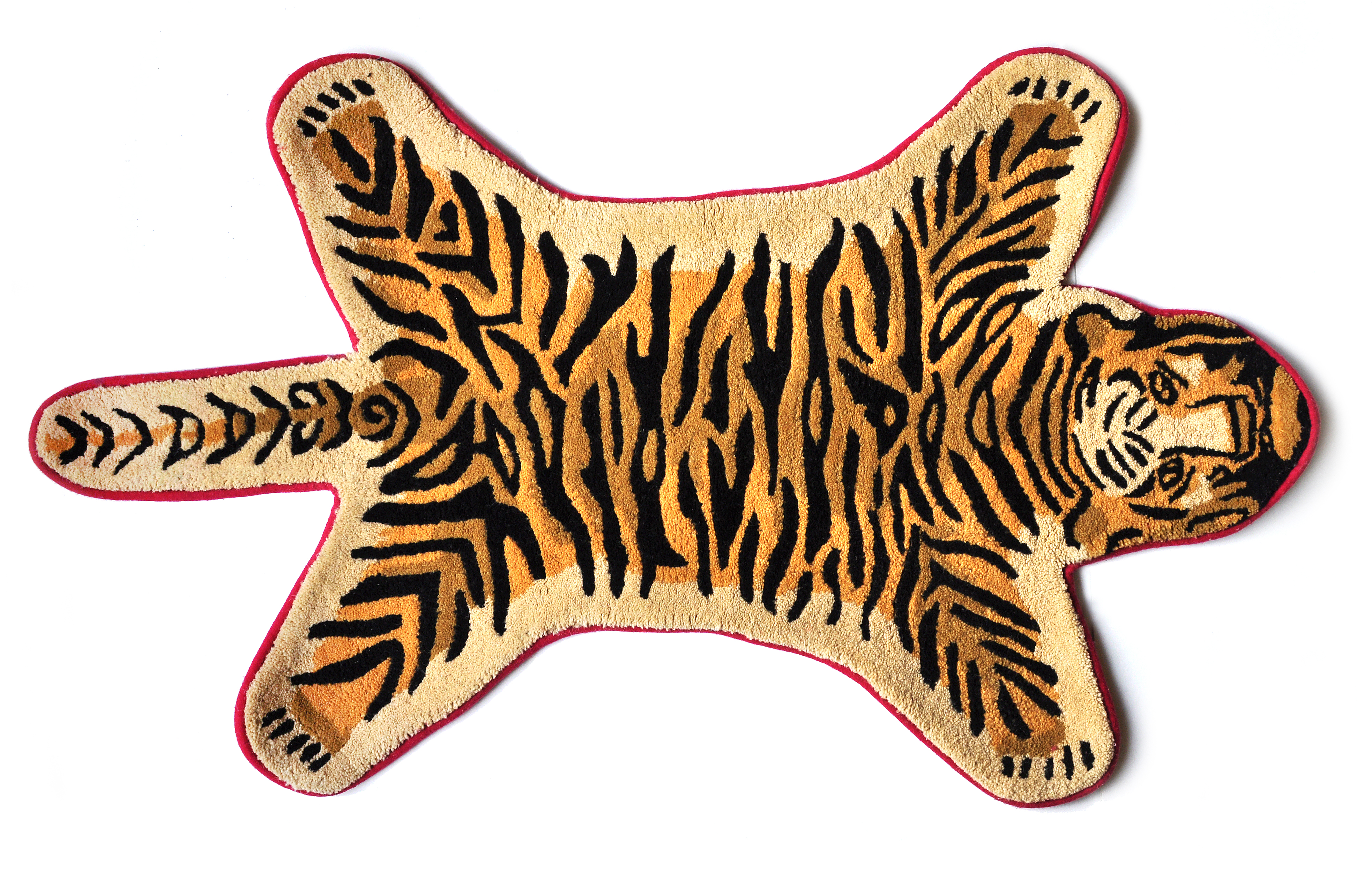 Tapis Tigre Antik MY LITTLE SQUARE