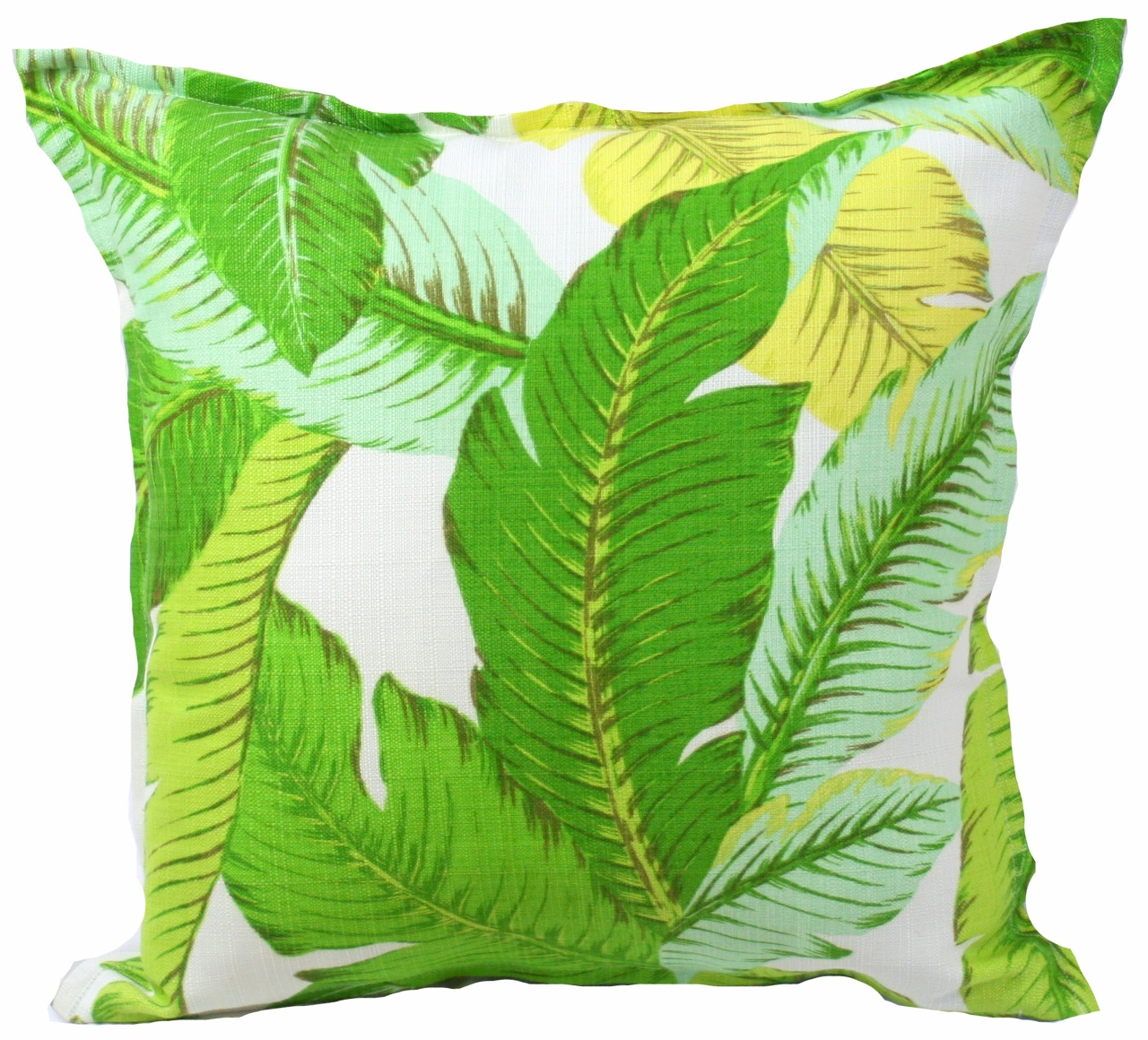 TropicalLeafOutdoorIndoorCushion