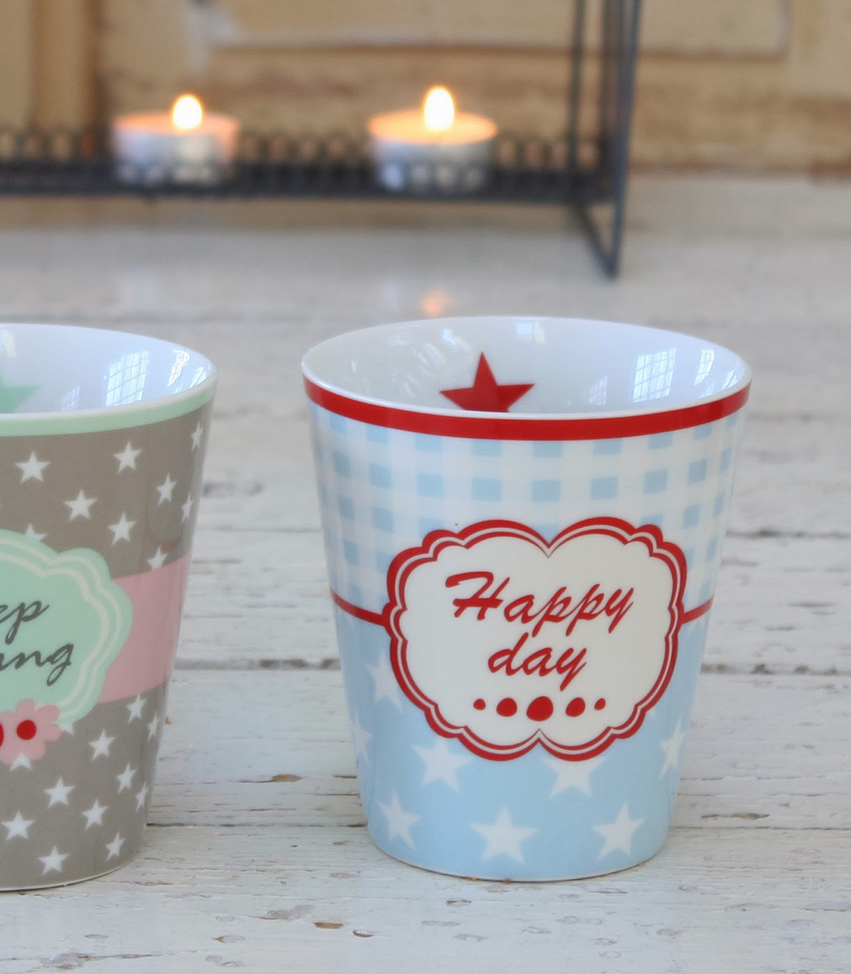 "Happy Mug ""Happy Day"" von Artchateau"