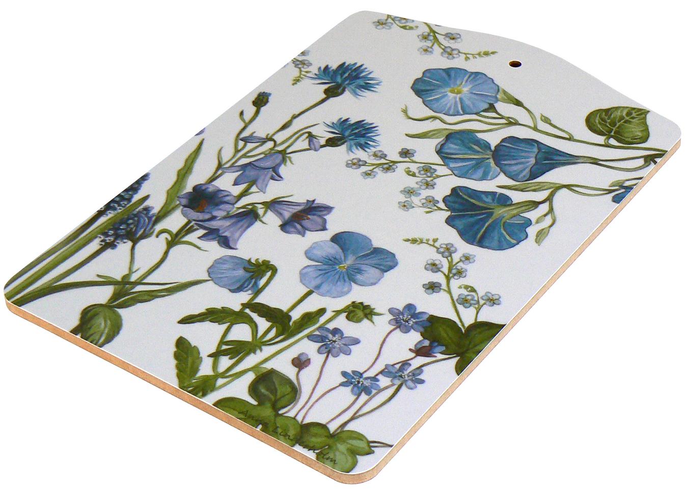 Servierbrett blaue Blumen von min butik für € 15,90