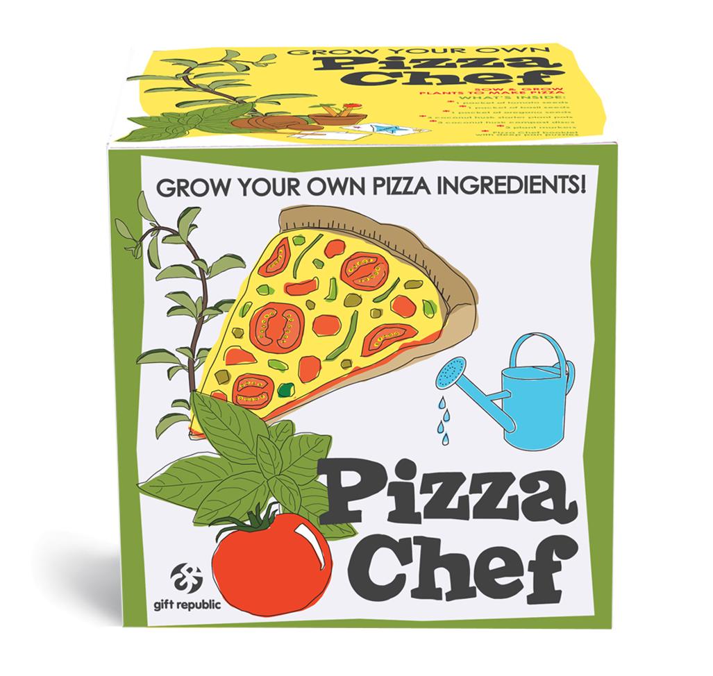 Pflanz' Dir Deine Pizza von Orange and Green für € 13,99