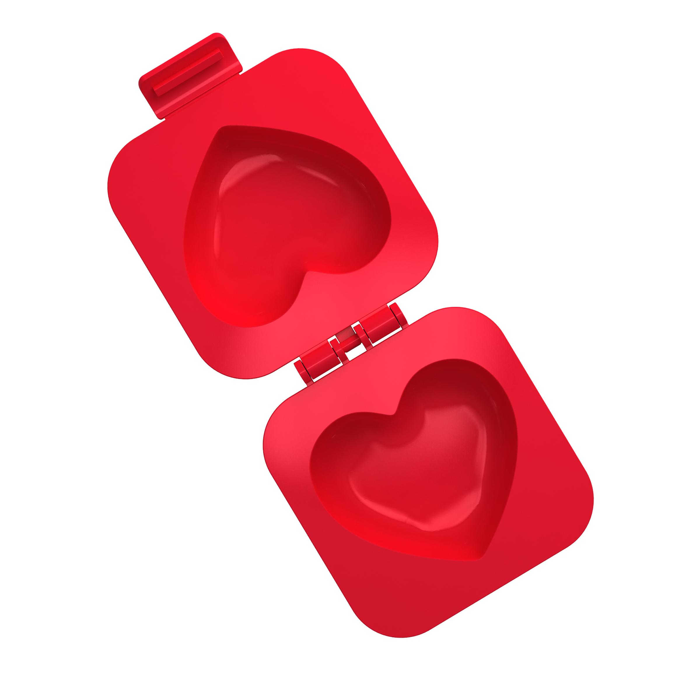 Moules à œufs en forme de cœur