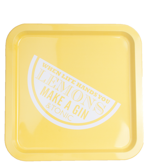 When Life Gives You lemons Tray - £10.00 chez The Contemporary Home