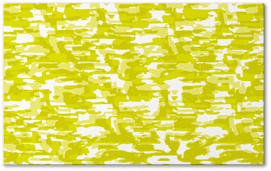 Tapis BARK - illusion optique, vert de chez Xavier & Me