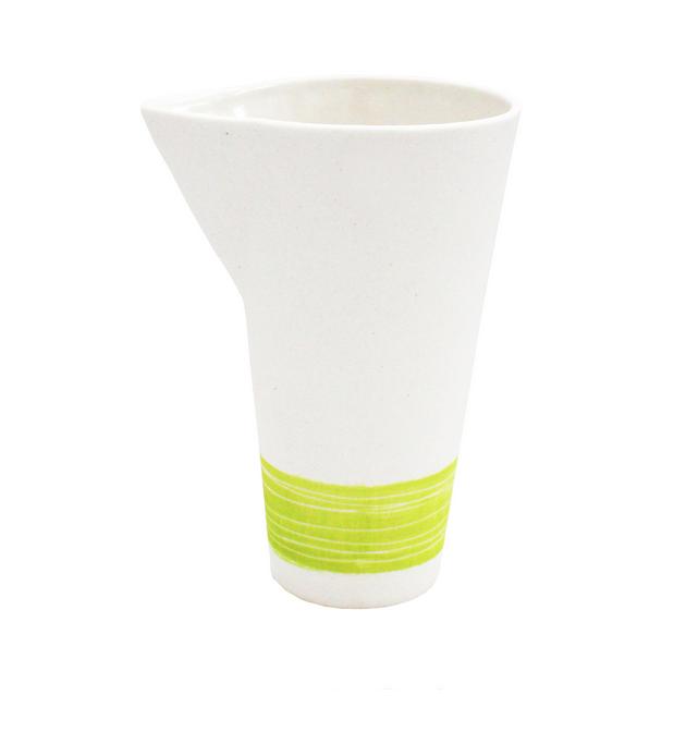 Vaisselle en porcelaine | pots à lait | Citron Vert - Xavier&Me