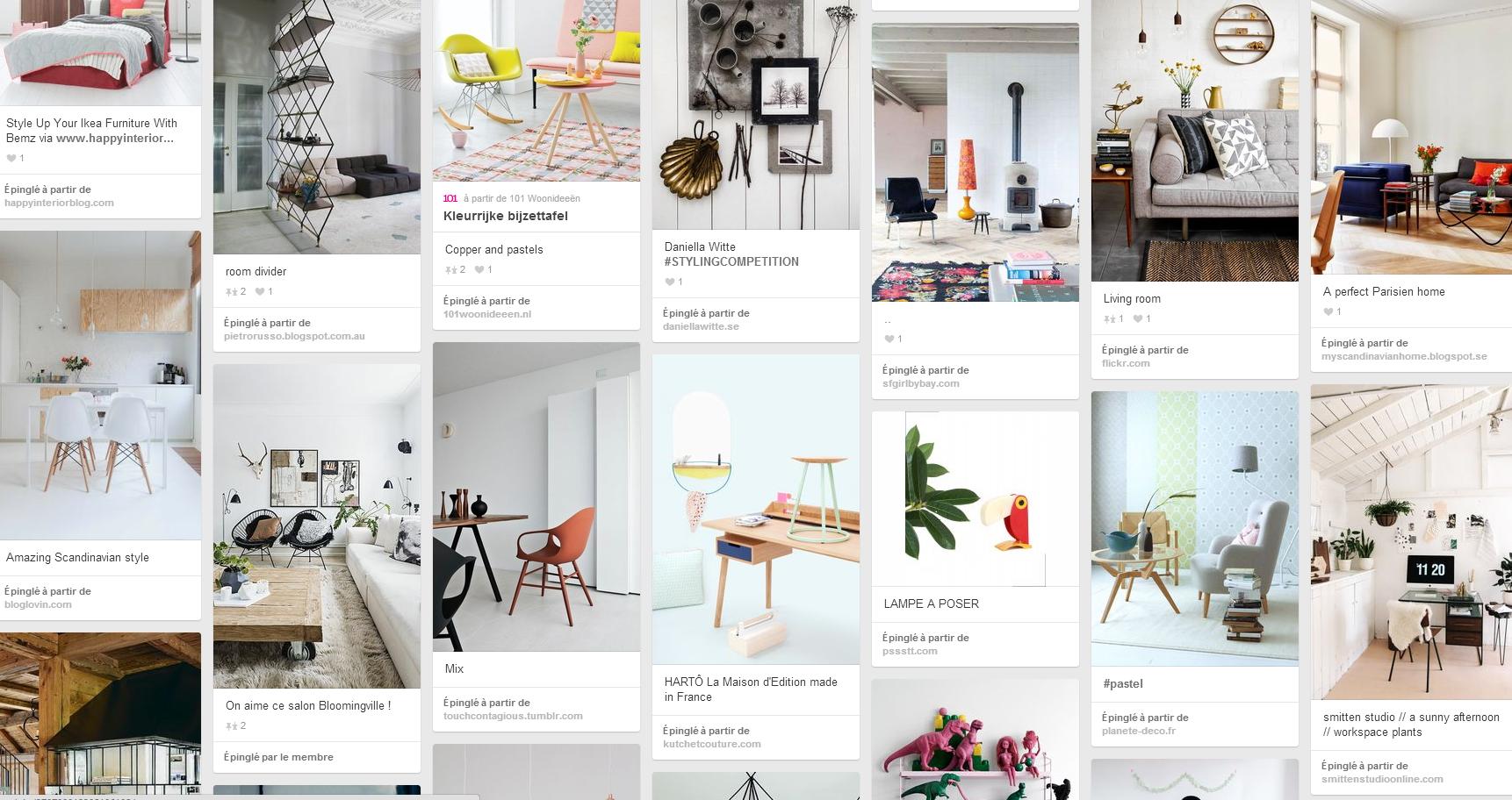 Planche d'inspiration de Press Loft France sur Pinterest