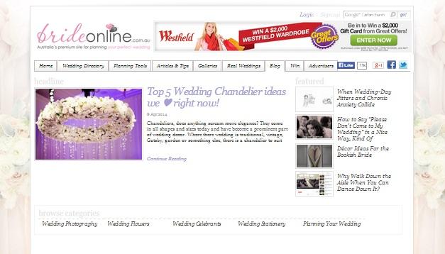 Brides Online Blog