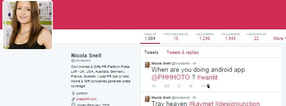 Nicola Snell Twitter