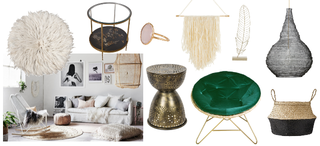 interiors trend predictions for 2017 - modern bohemian