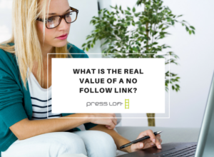 what is the real value of a no follow link?